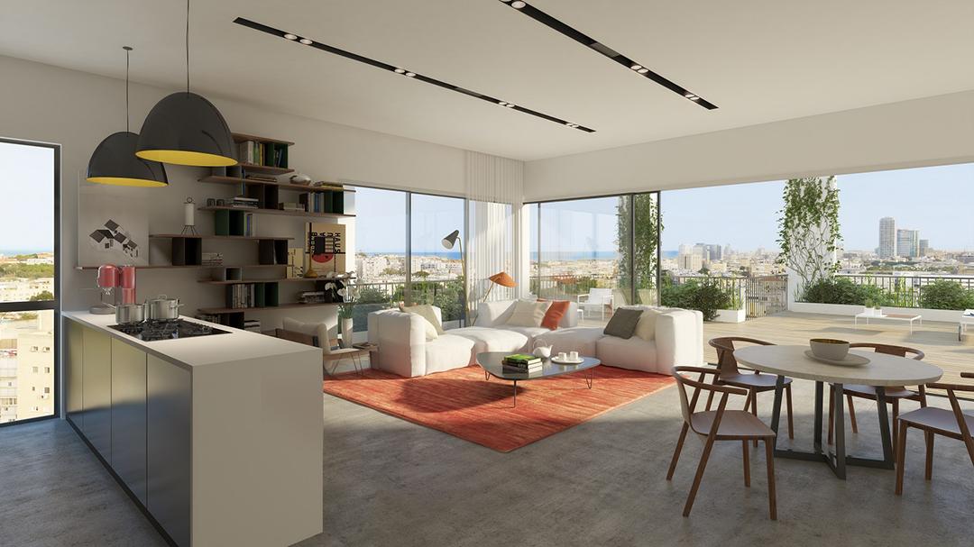 Jaffa Boulevard – Penthouses