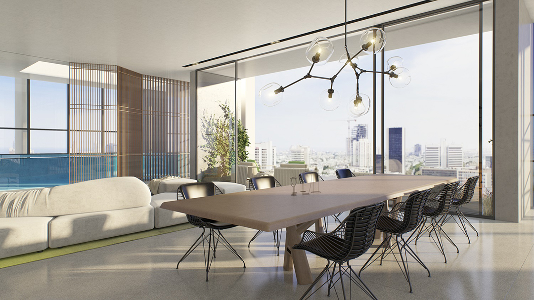 Rothschild 17 Tel Aviv – Penthouse Apartment