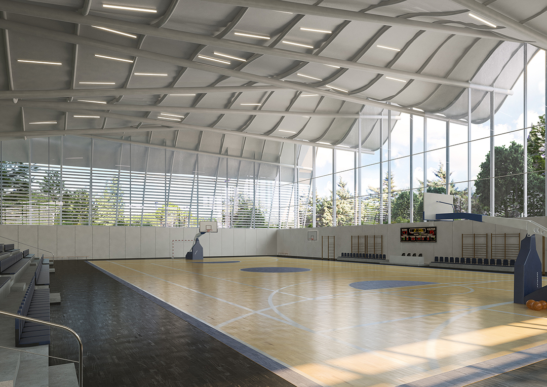 The new gym at the Technion, Haifa