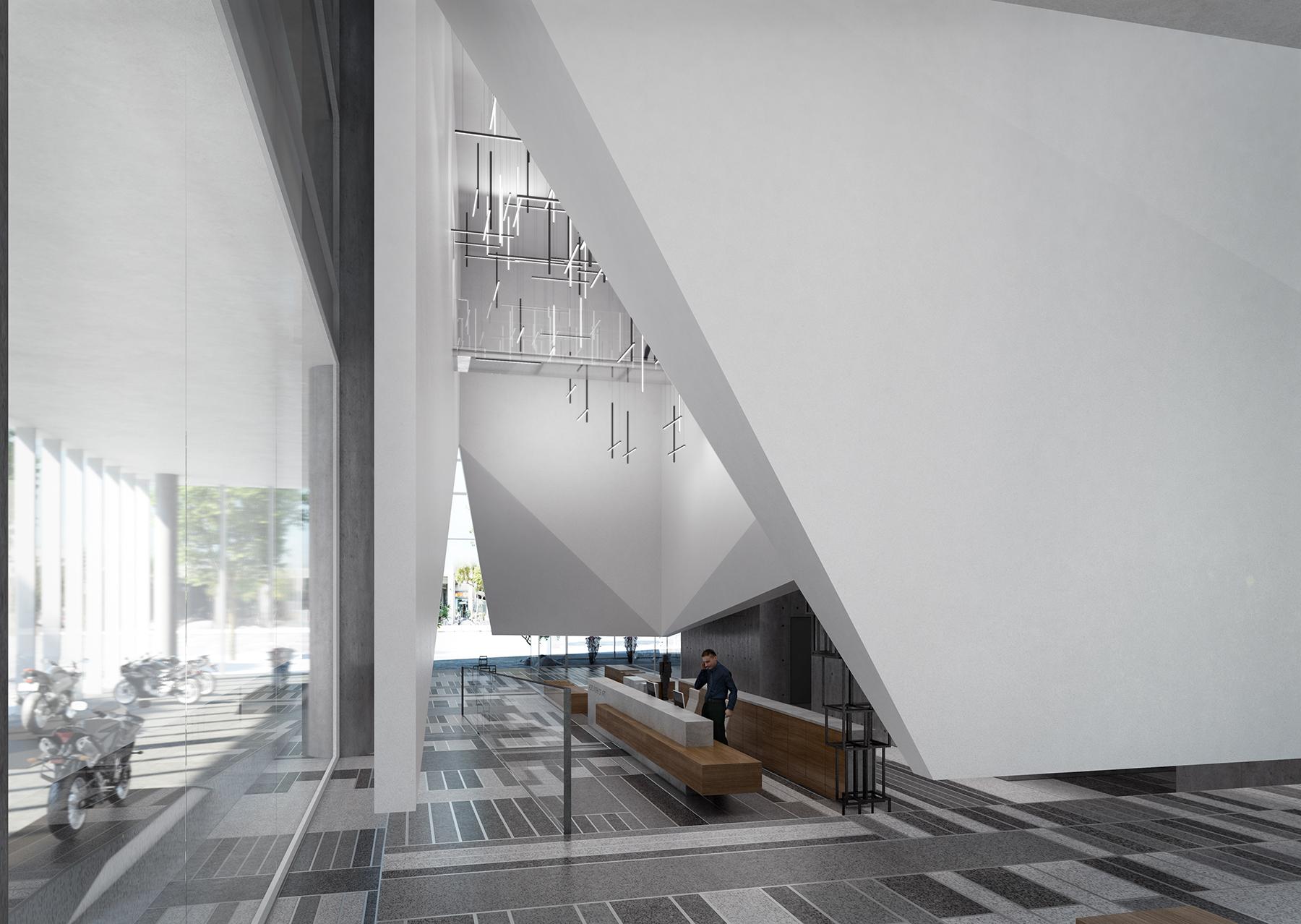 Office Building & Lobby – Tel Aviv