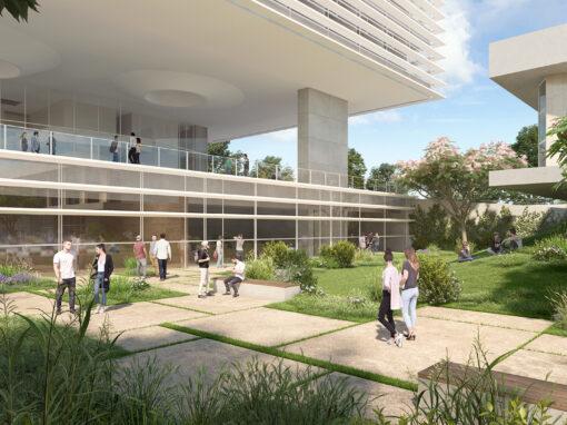 Tel Aviv University Promenade and Garden